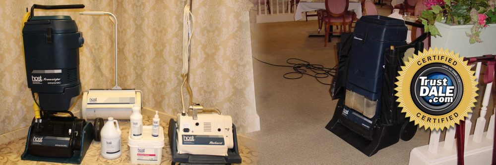 Trustdale Certified Carpet Cleaners Hughes Dry